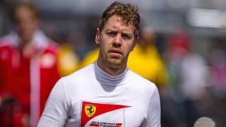 Sebastian Vettel, 28 anni. Afp
