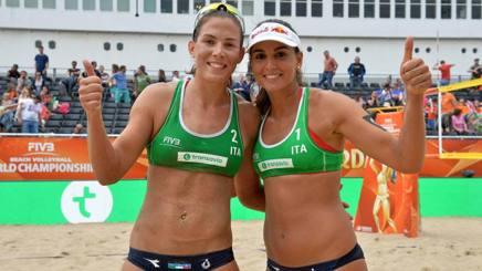 Le azzurre Viktoria Orsi Toth, 25 anni, e Marta Menegatti, 25