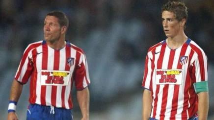Simeone e Torres insieme da calciatori