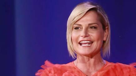 Simona Ventura, 51 anni, presentatrice tv. LaPresse