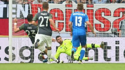 Mario Gomez, 30 anni, attaccante tedesco della Fiorentina, in prestito al Besiktas. Getty Images