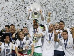 Il Real campione d'Europa 2015-16. LaPresse