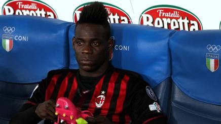 Mario Balotelli, 25 anni, attaccante del Milan, in prestito dal Liverpool. Forte Fabrizio