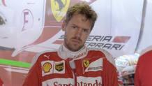 Sebastian Vettel, secondo anno alla Ferrari. Colombo