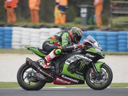 Tom Sykes, doppietta a Donington. Getty