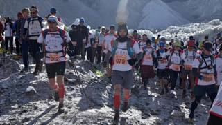 Una maratona in Paradiso: la Everestmarathon