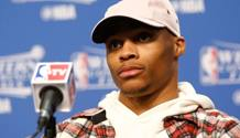 Russell Westbrook , 27 anni. Afp