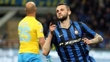 Marcelo Brozovic, 23 anni, centrocampista dell'Inter. ANSA
