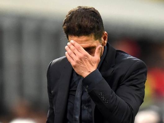 Diego Pablo Simeone, 46 anni, allenatore argentino dell'Atletico Madrid. EPA