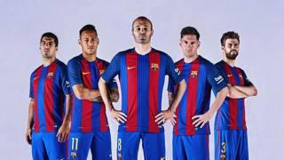Barcellona: ecco le nuove divise