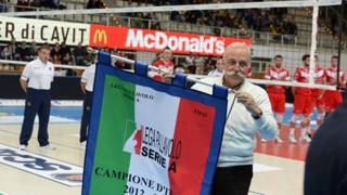 Diego Mosna, presidente Trentino Volley