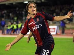 Alessandro Matri, 31 anni, attaccante della Lazio, al Cagliari dal 2007 al 2011
