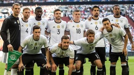La formazione della Germania nell'amichevole con l'Ungheria. Getty