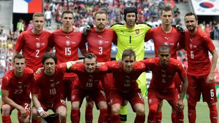 La squadra della Repubblica Ceca. Reuters