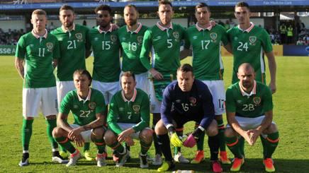 La formazione dell'Irlanda. Reuters