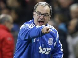 Marcelo Bielsa, 60 anni, allenatore argentino. Ansa