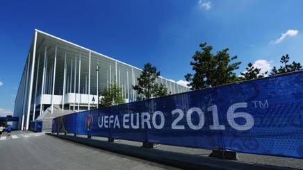 Lo stadio di Bordeaux � pronto per Euro 2016. Getty