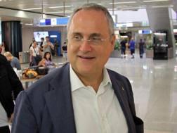 Claudio Lotito, 59 anni, presidente della Lazio dal 2004. Ansa