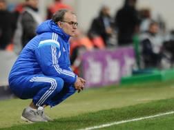 Il tecnico argentino Marcelo Bielsa. Afp