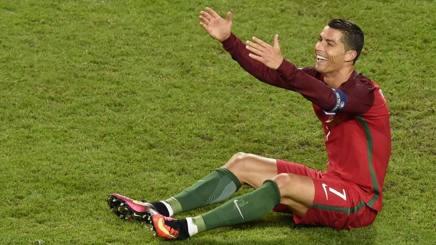 Cristiano Ronaldo, 31 anni. Afp