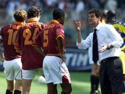 Fabio Capello ai tempi della Roma, con cui 15 anni fa vinse lo scudetto. Reuters