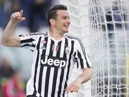 L'ormai ex calciatore della Juventus Simone Padoin. LaPresse