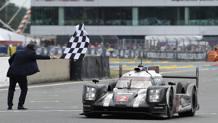 La Porsche guidata da Neel Jani vince l'84a 24 Ore di Le Mans. Afp