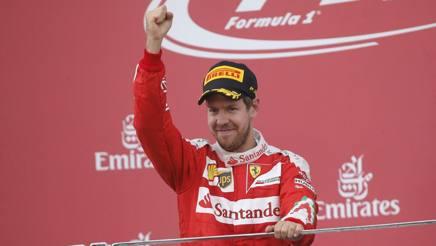 Sebastian Vettel, cinque podi stagionali. Reuters