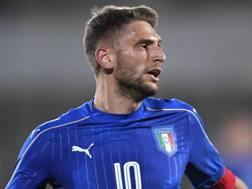 Domenico Berardi, 21 anni, attaccante del Sassuolo. LaPresse