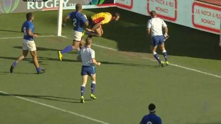 La meta spagnola decisiva su Samoa