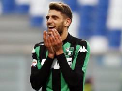 Domenico Berardi, 21 anni, attaccante del Sassuolo. Ansa