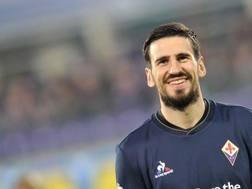 Nenad Tomovic, 28 anni, difensore della Fiorentina. LaPresse
