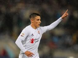 Cristian Tello Herrera, 24 anni, centrocampista spagnolo del Barcellona, in prestito alla Fiorentina. Getty Images