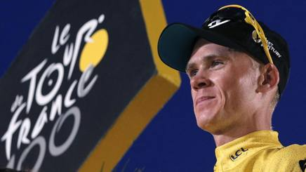 Chris Froome, 31 anni. Ap