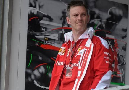 James Allison, 47 anni, d.t. della Ferrari dal 2014 Colombo