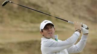 Il numero 4 al mondo di golf, Rory McIlory. Ap