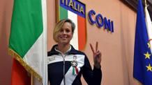 Federica Pellegrini, 27 anni, portabandiera a Rio. Ansa