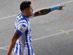Gianluca Lapadula, 26 anni, 30 gol nello scorso campionato di B, tra regular season e playoff. Getty Images