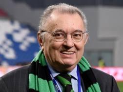 Giorgio Squinzi, 73 anni, patron del Sassuolo. Getty Images