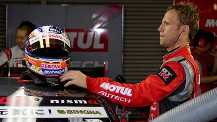 Il pilota Nissan Ronnie Quintarelli, 36 anni