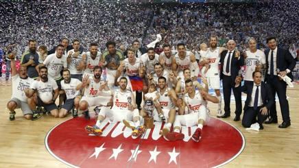 La festa del Real Madrid per il titolo spagnolo vinto LAPRESSE