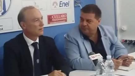 I due presidenti dell'Akragas Giavarini e Alessi