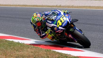 Valentino Rossi, nove titoli mondiali. Ap