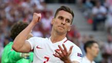 Arkadiusz Milik, attaccante polacco dell'Ajax. Epa
