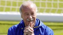 Vicente del Bosque, 65 anni, c.t. della Spagna dal 2008. Epa
