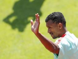 Lu�s Carlos Almeida da Cunha, noto come Nani, 29 anni, centrocampista portoghese del Fenerbahce. Reuters