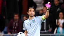 Gigi Buffon, 38 anni. Forte