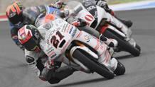 Francesco Bagnaia, vincitore ad Assen in Moto3 con la Mahindra. Getty