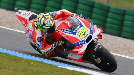 Andrea Iannone, 26 anni, sulla Ducati. Ciam-Cast