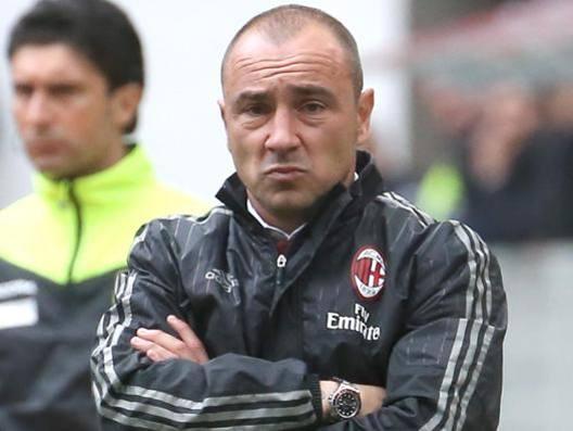 Cristian Brocchi, 40 anni, promosso ad aprile dal Milan Primavera alla prima squadra. Ansa